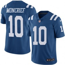 2016 Nike Indianapolis Colts 10 Donte Moncrief Royal Blue Mens Stitched NFL Limited Rush Jersey