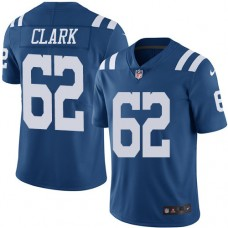 2016 Nike Indianapolis Colts 62 Le'Raven Clark Royal Blue Mens Stitched NFL Limited Rush Jersey