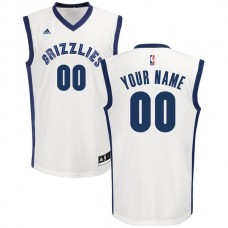 Adidas Memphis Grizzlies Youth Custom Replica Home White NBA Jersey