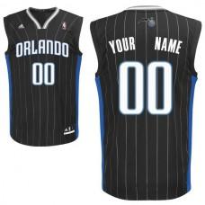 Adidas Orlando Magic Youth Custom Replica Alternate Black NBA Jersey