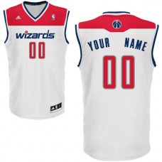 Adidas Washington Wizards Youth Custom Replica Home White NBA Jersey