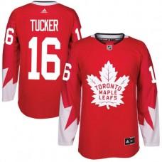 2017 NHL Toronto Maple Leafs Men 16 Darcy Tucker red jersey