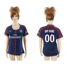 2017-2018 Club Pari St German home aaa verion women cutomized soccer jersey