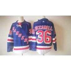 2017 Men NHL New York Rangers 36 Zuccarello Adidas blue jersey