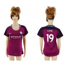 2017-2018 Club manchester city away aaa version women 19 soccer jersey