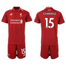 2018-2019 Men club Liverpool home 15 soccer jersey