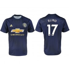 2018-2019 Men club Manchester united away aaa version 17 soccer jersey