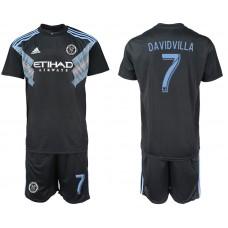 2018-2019 Men club New York City away 7 soccer jersey