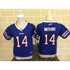 Baby Buffalo Bills 14 Watkins Blue Nike NFL Jerseys