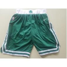 2018 Men NBA Nike Boston Celtics green shorts