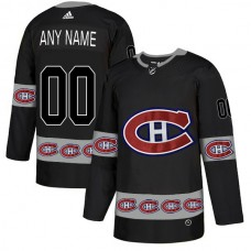 2018 NHL Men Montreal Canadiens 00 customized black jerseys