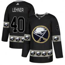2019 Men Buffalo Sabres 40 Lehner Black Adidas NHL jerseys