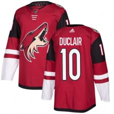Adidas Arizona Coyotes 10 Anthony Duclair Maroon Home Authentic Stitched Youth NHL Jersey