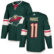 Adidas Minnesota Wild 11 Zach Parise Green Home Authentic Stitched Youth NHL Jersey
