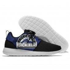 Men  Colorado Rockies Roshe style Lightweight Running shoes