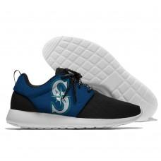 Men  Seattle Mariners Roshe style Lightweight Running shoes 3