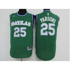 Men Dallas Mavericks 25 Parsons Green Adidas NBA Jerseys