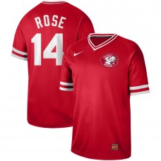 2019 Men MLB Cincinnati Reds 14 Rose red Nike Cooperstown Collection Jerseys
