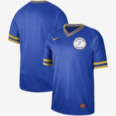 2019 Men MLB Milwaukee Brewers blank blue Nike Cooperstown Collection Jerseys