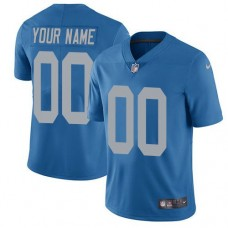 2019 NFL Men Nike Detroit Lions Alternate Blue Customized Vapor Untouchable Limited jersey
