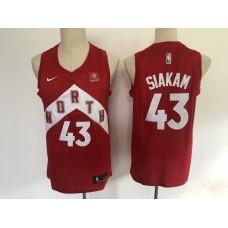 2019 Men Toronto Raptors 43 Siakam red  NBA Nike Jerseys