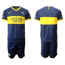 Men 2019-2020 club Boca juniors home blue Soccer Jerseys