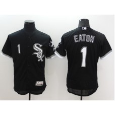 2016 MLB FLEXBASE Chicago White Sox 1 Adam Eaton Black Jerseys
