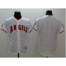2016 MLB FLEXBASE Los Angeles Angels blank white jerseys