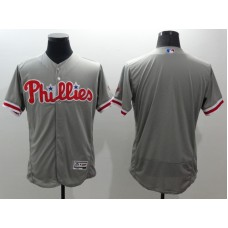 2016 MLB FLEXBASE Philadelphia Phillies blank grey jerseys