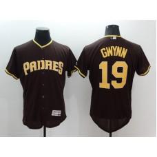 2016 MLB FLEXBASE San Diego Padres 19 Tony Gwynn brown Jerseys