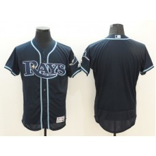 2016 MLB FLEXBASE Tampa Bay Rays Blank Blue Jerseys