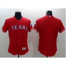 2016 MLB FLEXBASE Texas Rangers blank red jerseys