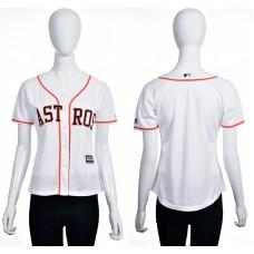 2016 MLB Houston Astros Blank white women jerseys