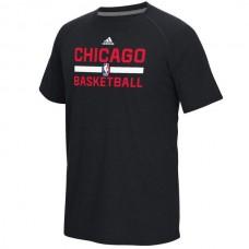 2016 NBA Chicago Bulls adidas On-Court Climalite Ultimate T-Shirt - Black