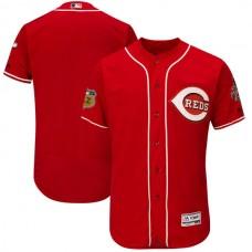 2017 MLB Cincinnati Reds Blank Red Jerseys