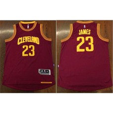 2016 NBA Cleveland Cavaliers 23 James red Jerseys