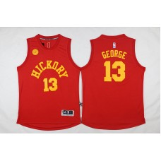 2017 NBA Indiana Pacers 13 George red jerseys