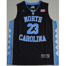 2016 North Carolina Tar Heels Michael Jordan 23 College Basketball Jersey - Black