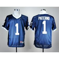 NCAA Penn State Nittany Lions 1 Joe Paterno Navy Blue Nike College Football Jersey.