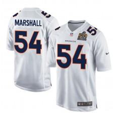 2016 Denver Broncos 54 Marshall White youth jerseys