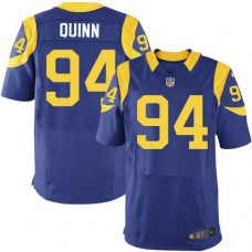2016 Los Angeles Rams 94 Quinn Blue Nike Elite Jerseys