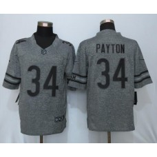 2016 New Nike Chicago Bears 34 Payton Gray Men's Stitched Gridiron Gray Limited Jersey