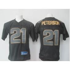 2016 Nike NFL Arizona Cardinals 21 Patrick Peterson black Golden jerseys