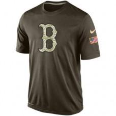 2016 Mens Boston Red Sox Salute To Service Nike Dri-FIT T-Shirt