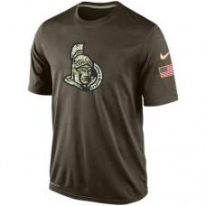 2016 Mens Ottawa Senators Salute To Service Nike Dri-FIT T-Shirt