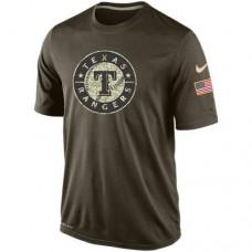 2016 Mens Texas Rangers Salute To Service Nike Dri-FIT T-Shirt