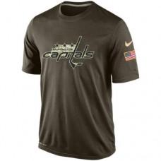 2016 Mens Washington Capitals Salute To Service Nike Dri-FIT T-Shirt