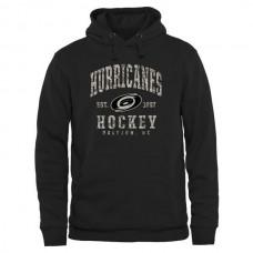 2016 NHL Carolina Hurricanes Camo Stack Pullover Hoodie - Black