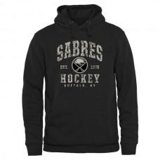 2016 NHL Mens Buffalo Sabres Black Camo Stack Pullover Hoodie