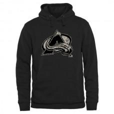 2016 NHL Mens Colorado Avalanche Black Rink Warrior Pullover Hoodie
